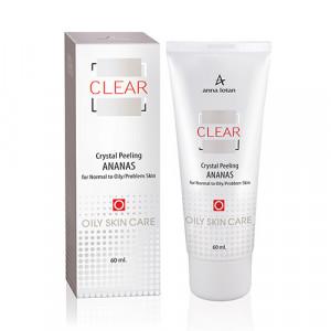 Пилинг кристаллический Ананасовый для нормальной и жирной проблемной кожи Clear Ananas Crystal Peeling (250 мл)