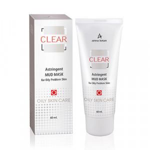 Маска стягивающая грязевая для проблемной кожи Clear Astringent Mud Mask (250 мл)