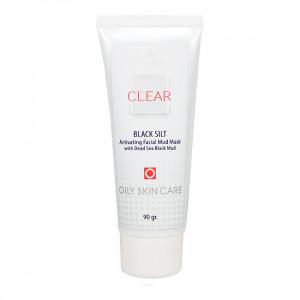 Маска для ухода за жирной или смешанной кожей Clear Black Silt Activating Facial Mud Mask (90 мл)