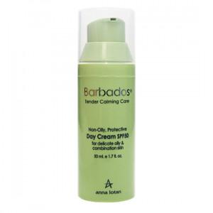 Крем легкий дневной защитный SPF 50 для деликатной жирной, комбинированной кожи Barbados Non-Oily Protective Day Cream SPF50