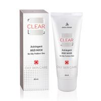 Маска стягивающая грязевая для проблемной кожи Clear Astringent Mud Mask (625 мл)